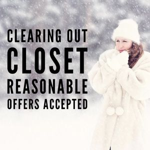 Closet Clear Out !!